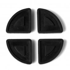 Pot pads outdoor zwart
