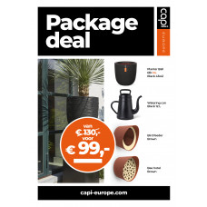 Package deal Rib zwart