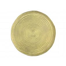 Lux - bijzettafel- goud - metaal -41x41x45cm