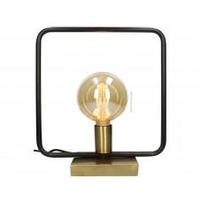Lux - tafellamp - zwart/ goud - multi- metaal -32x16x35