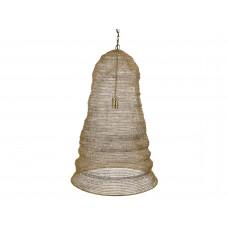 Lux - hanglamp- brons - metaal -57x57x84