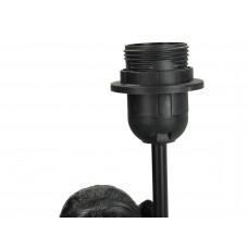 Lux - lampenvoet- zwart- polyresin -23x23x50