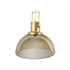Lux - hanglamp- champagne- metaal -44.5x44.5x38.5