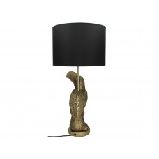 Lux - tafellamp toekan- goud - polyresin -34x25.5x59