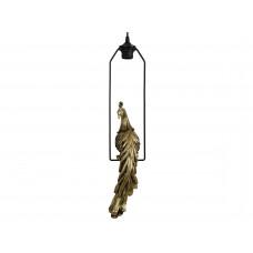 Lux -hanglamp pauw- goud - polyresin 27x12x57