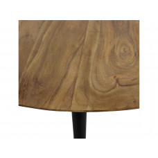 Lux - bijzettafel rond- hout -76x76x29