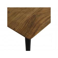 Lux - bijzettafel vierkant- hout -70x70x37