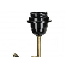 Lux - lampenvoet luipaard- goud -polyresin -22x22x51.5