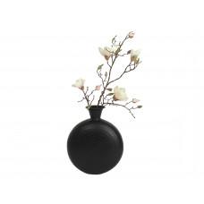 Lux - vaas- zwart - metaal -32x12x41