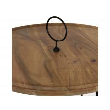 Lux - bijzettafel - acaciahout
