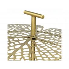 Lux - bijzettafel blad - goud - metaal