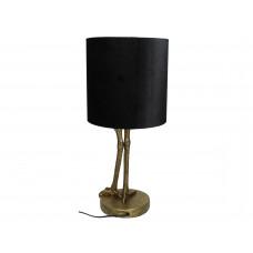 Lux - tafellamp kraanvogel- goud- polyresin -25.5x25.5x58cm