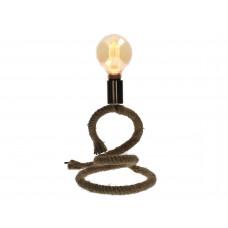 Lux - tafellamp touw- naturel - 22x20x27