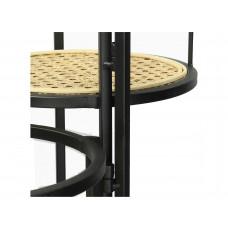 Lux - tafel- naturel - metaal -51x26x65.5