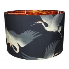 Lux - lampenkap kraanvogel - polyester -45x45x28
