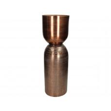 Lux - vaas - metaal -17.5x17.5x60