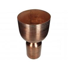 Lux - vaas- metaal -27.5x27.5x52.5