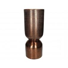 Lux - vaas- metaal - 18.5x18.5x46.5