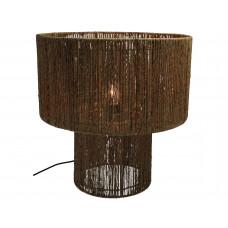 Lux - tafellamp - jute -40x40x42