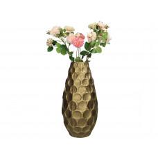 Lux - vaas - goud - metaal -25x25x49.5