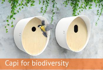 Sfeerfoto Capi for biodiversity